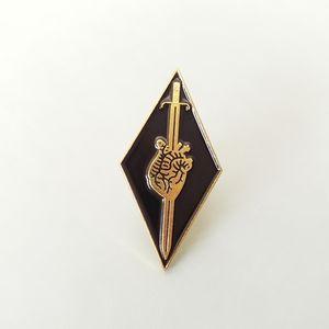 🎃 {10/$25} Heart and sword enamel pin